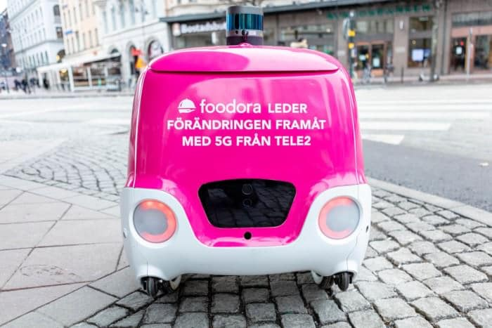TELE2 AND FOODORA: HOW 5G, IOT, AND DROID'S ENABLE FOOD DELIVERIES IN STOCKHOLM?